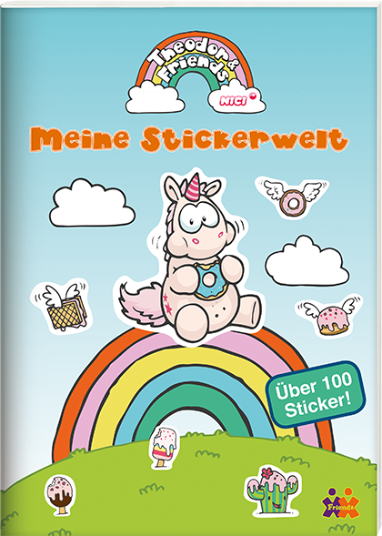Theodor & Friends. Meine Stickerwelt