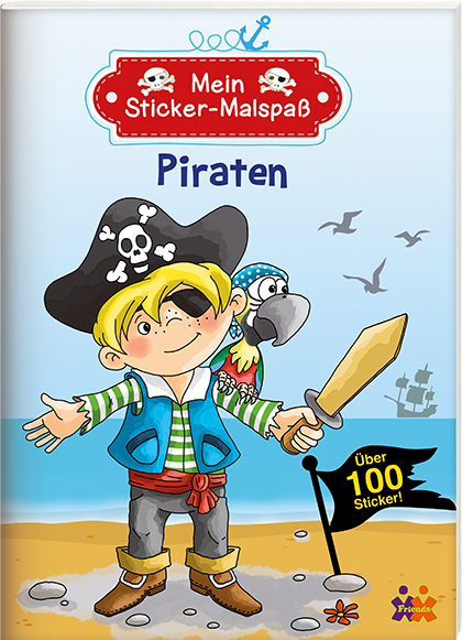 Mein Sticker-Malspaß. Piraten