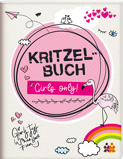 Kritzelbuch. Girls only!