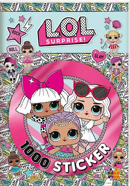 L.O.L Surprise! 1000 Sticker